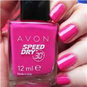 Vernis à ongles à séchage express en 30 secondes STRAWBERRY - AVON Speed Dry
