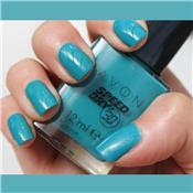 Vernis à ongles à séchage express en 30 secondes FAST TIME TEAL - AVON Speed Dry
