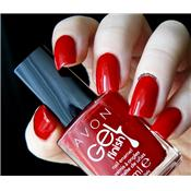 Vernis à ongles gel shine Roses Are Red (rouge) Avon