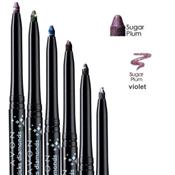 Crayon eyeliner rétractable yeux Violet scintillant Sugar Plum Avon Diamonds longue tenue
