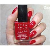 Vernis à ongles rouge Royal Red Avon True Colour
